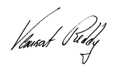 VENKAT REDDY (signature)